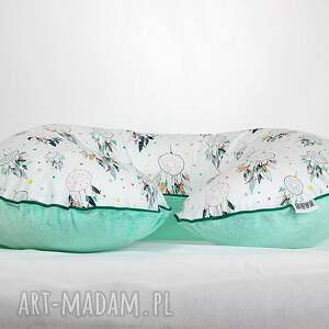 ręcznie zrobione pokoik dziecka poduszka poszewka na poduszkę rogal boppy