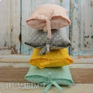 różowe pokoik dziecka poszewka poduszka - pudrowy róż