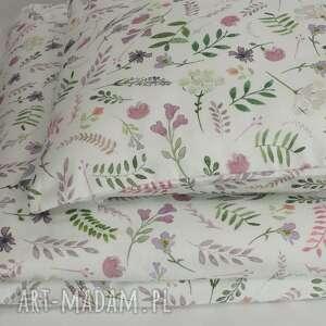 wyprawka pokoik dziecka różowe poszewki na pościel 90x120