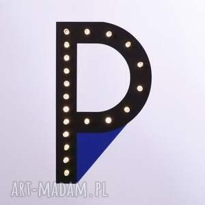 pokoik dziecka litera świecąca p z imieniem