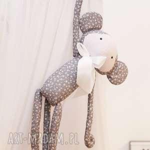 pokoik dziecka przytulanka małpka krystyna (białe