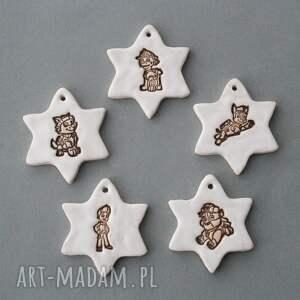 pomysły na prezenty pod choinkę psi patrol - zawieszki ceramiczne