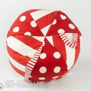 poduszka pokoik dziecka puf dziecięcy kropki i paski