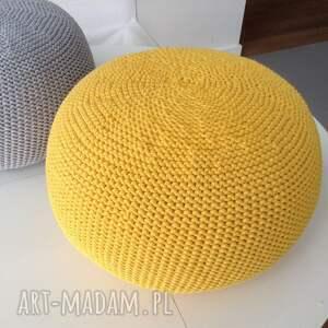 pokoik dziecka żółty pufka z nowej, wiosennej kolekcji. wykonana