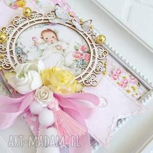 ramka pokoik dziecka różowe do pokoju dziecięcego
