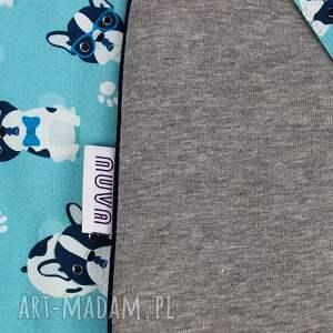 niebieskie pokoik dziecka rożek niemowlęcy -