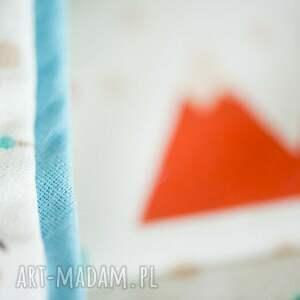 turkusowe pokoik dziecka becik rożek niemowlęcy