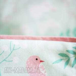 różowe pokoik dziecka otulak rożek niemowlęcy coramelli