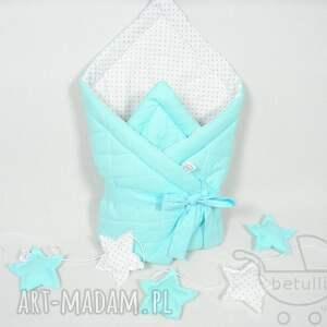 gustowne pokoik dziecka rożek niemowlęcy otulacz pikowany
