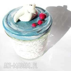 pokoik dziecka fimo słoiczek na mleczne ząbki - wróżka