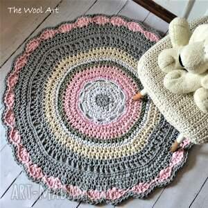 trendy pokoik dziecka dywanik sznurkowa dywan