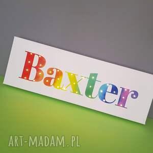 niepowtarzalne pokoik dziecka prezent napis led neon twoje imię