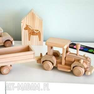 awangardowe pokoik dziecka traktor z przyczepą