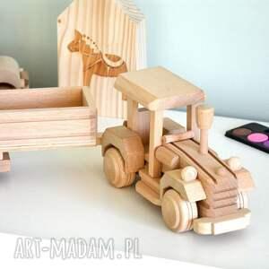 pokoik dziecka auto traktor z przyczepą