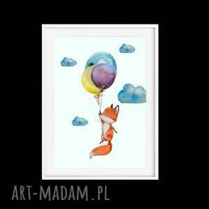pokoik dziecka balony tryptyk twoje marzenia a4