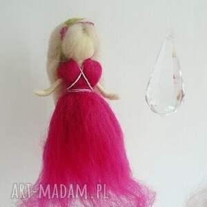 niesztampowe pokoik dziecka elfy mobil-karuzela. Zabawa z kroplą