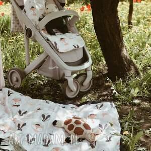 niesztampowe pokoik dziecka wkładka do wózka wesołe leśniaki