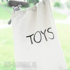 pokoik dziecka bawełna worek na zabawki piesek