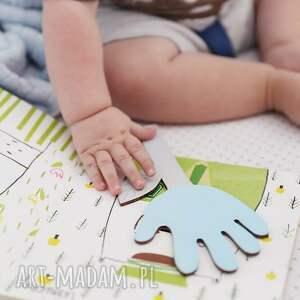 intrygujące pokoik dziecka drewno zakładka do książki ręcznie robiona