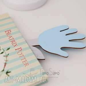 intrygujące pokoik dziecka zakładka do książki ręcznie robiona