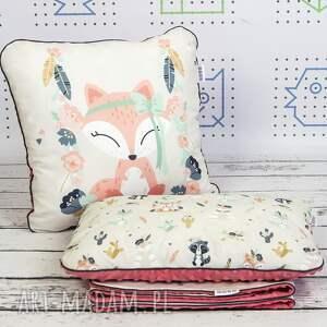 zestaw pokoik dziecka różowe bohemian friends fox