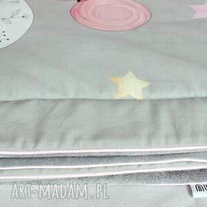 pokoik dziecka spanie zestaw do łóżeczka kocyk i płaska