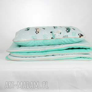 pokoik dziecka królik zestaw do łóżeczka kocyk i płaska