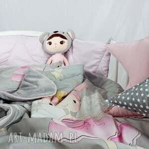 spanie zestaw do łóżeczka kocyk i płaska