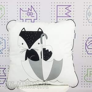 handmade pokoik dziecka jasiek zestaw kocyk i poduszka deszczowy