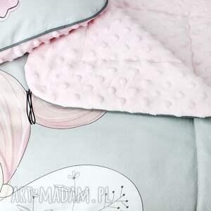 gustowne pokoik dziecka spanie zestaw łóżeczka kocyk płaska