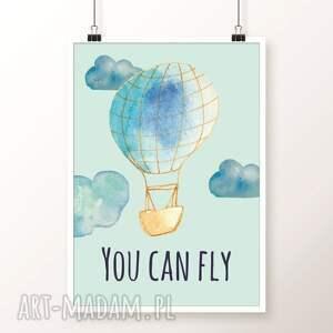 pokoik dziecka plakaty zestaw plakatów balloons a3