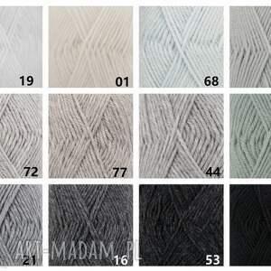 kolorowe poncho sweter miluza