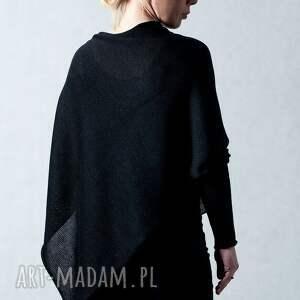 ręcznie robione poncho sweter sweter-ponczo - arthermina