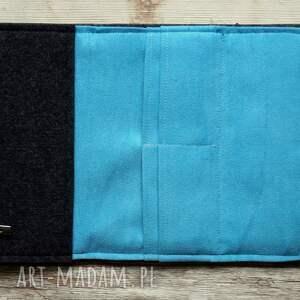 handmade portfele portfel duży filcowy