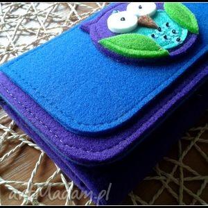 portfele catoo duzy portfel z sowa
