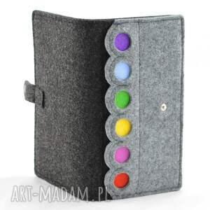 portfele porfel duży portfel z kropkami- maxi