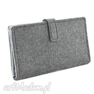kopertówka portfele duży portfel/saszetka filcowy