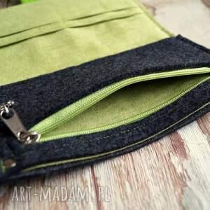 oryginalne portfele ekozamsz filcowy portfel
