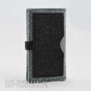 kot portfele filcowy portfel z kotkiem - midi