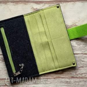 oryginalne portfele portfel filcowy