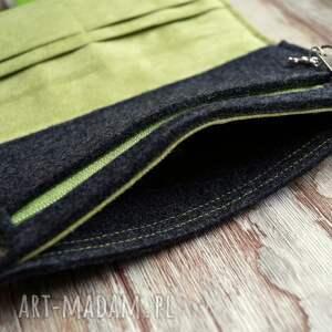 portfele ekozamsz filcowy portfel