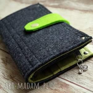 ekozamsz portfele filcowy portfel