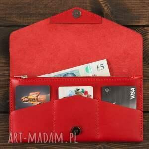 portfele portfelik kopertówka czerwona