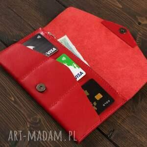 portfelik portfele kopertówka czerwona
