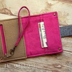 filcowa portfele mały filcowy portfel