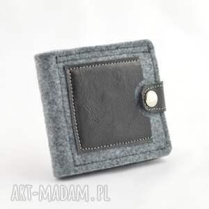niebanalne portfele skóra minimalistyczny portfel- mini