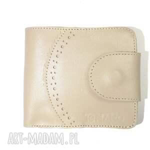 rękodzieło portfele portfel elizium z zatrzaskiem