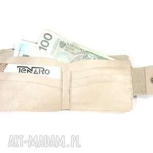 portfele rękodzieło portfel elizium z zatrzaskiem