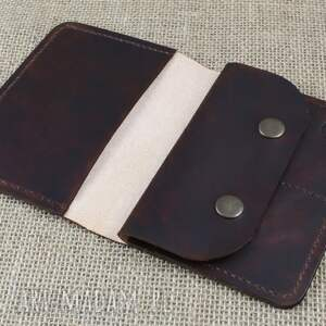 brązowe portfele etui portfel, na paszport
