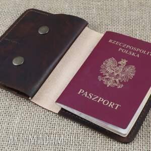 portfele skóra portfel, etui na paszport